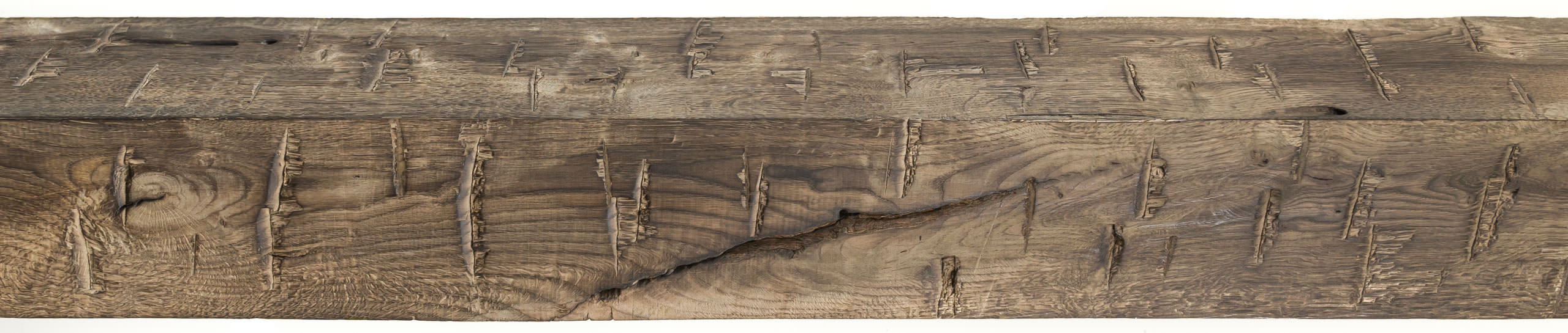 Rustic hollow wood beams posts wraps hewn elements for Real wood box beams