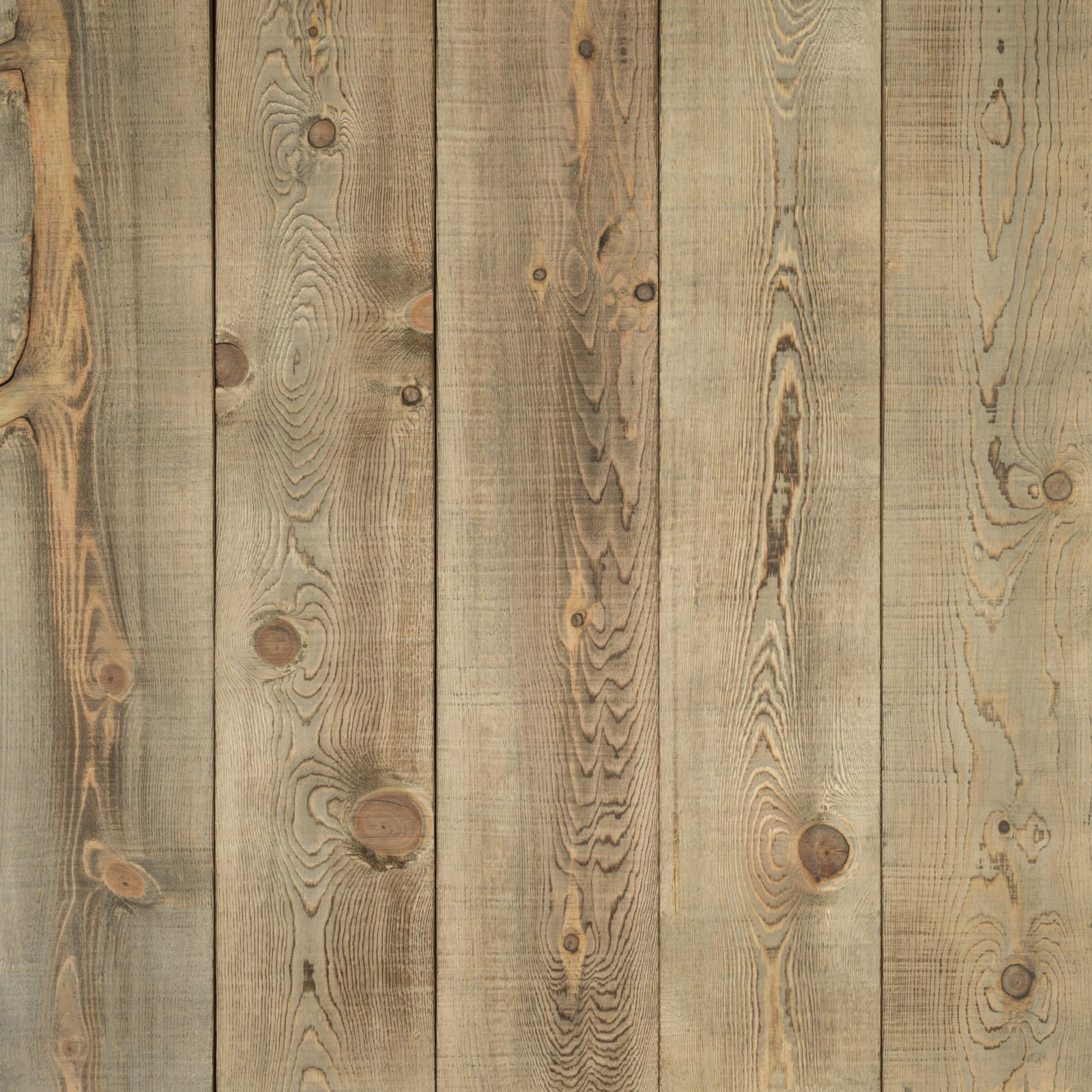 Driftwood Pine Boards Hewn