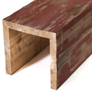 Custom box beams real wood hewn elements for Real wood box beams
