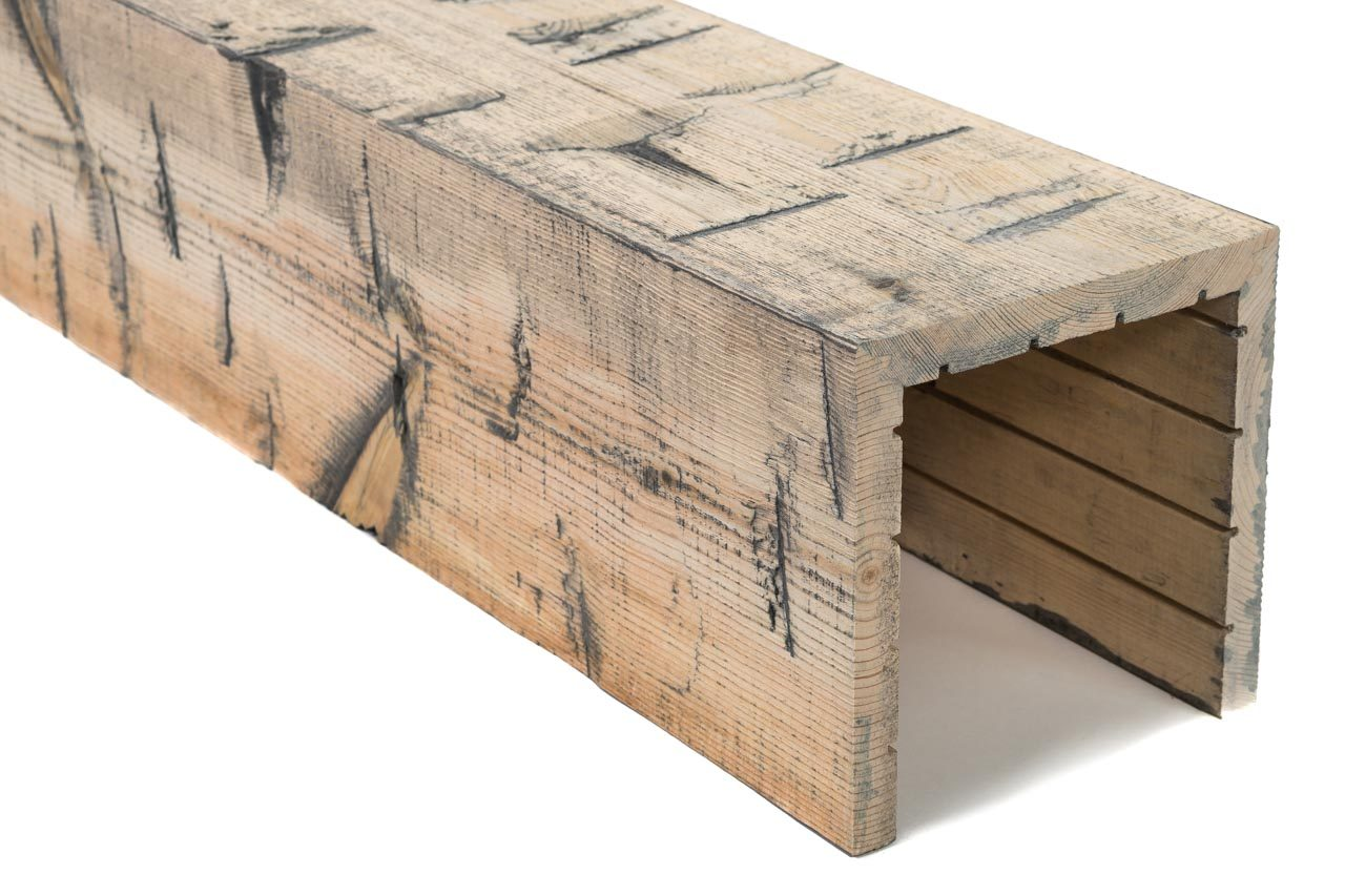 Northwestern Spruce Box Beams Rustic Natural Hewn Elements