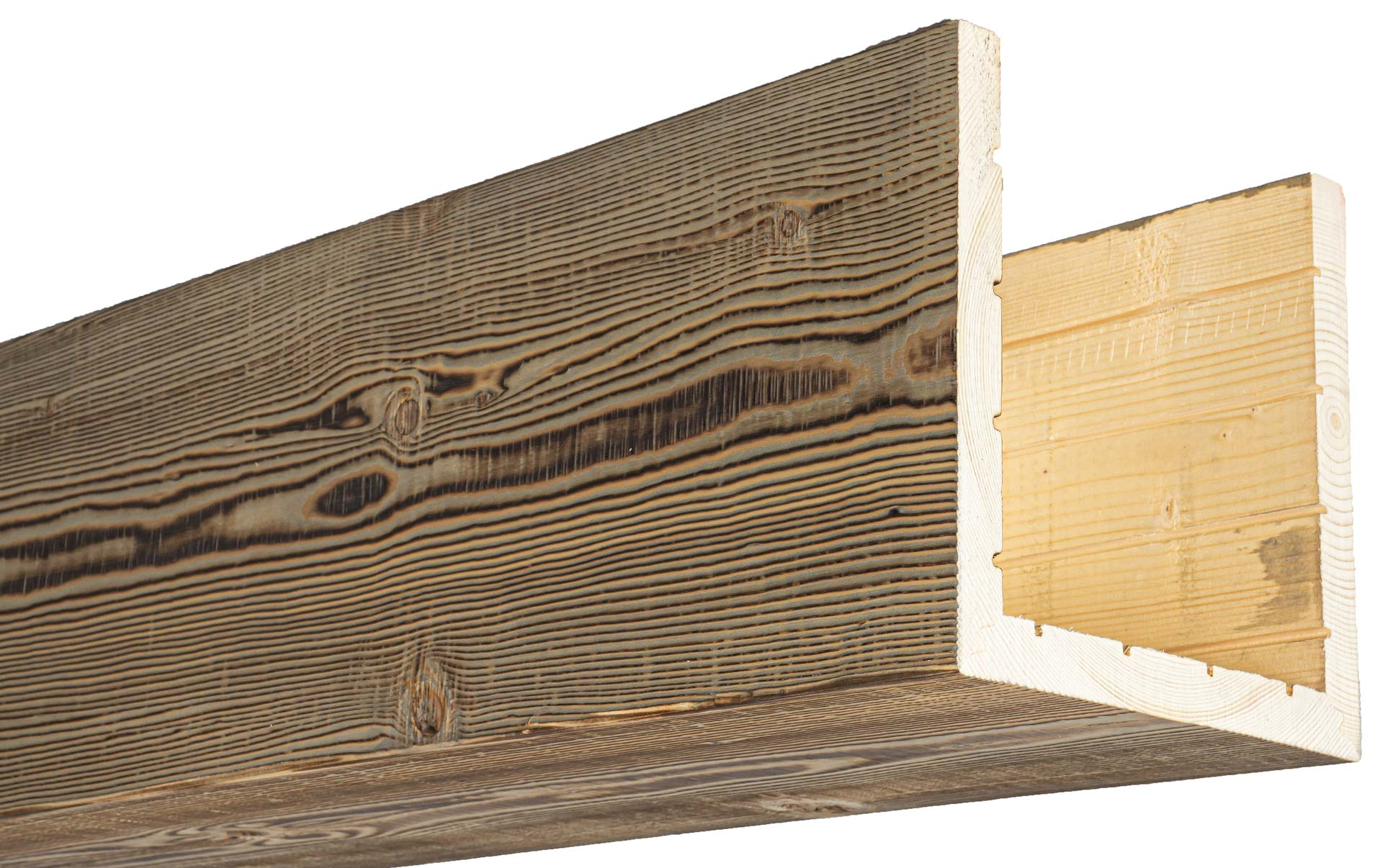 Northwestern Spruce Box Beam 183 Driftwood Hewn Elements